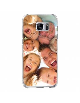 Samsung Galaxy S7 - Coque personnalisable - Souple Transparent