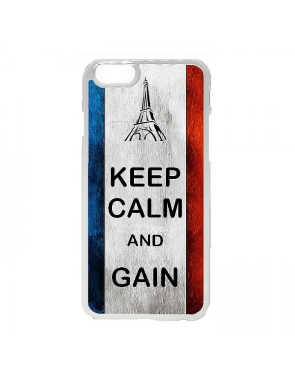 Coque iPhone 5C Euro 2016 France Keep Calm and Gain