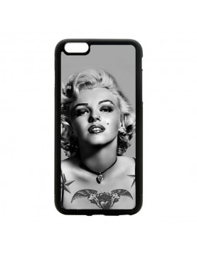Coque iPhone 5C Marylin Monroe Noir et blanc