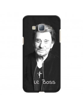 Coque-Samsung-Galaxy-J3-2016-Souple-Noir-Johnny-Le-Boss