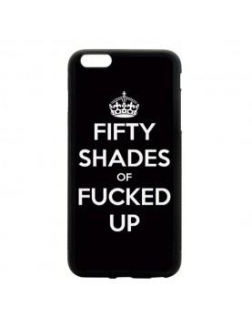 Coque iPhone 5C Fifty shades of Fucked up