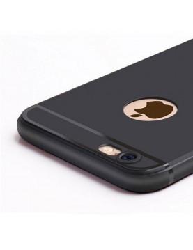 Coque silicone iPhone 6/6S - Noir