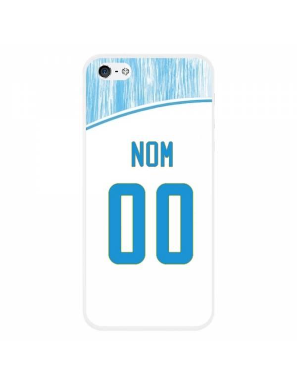 Coque Football personnalisable iPhone 5/5S, SE - Marseille OM domicile