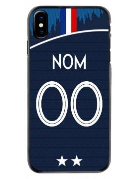 Coque personnalisable iPhone X/XS - France coupe du monde domicile