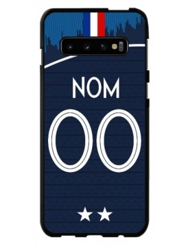 Coque coupe du monde 2018 Samsung Galaxy S10 PLUS,  Personnalisable - Domicile