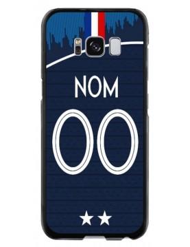 Coque coupe du monde 2018 Samsung Galaxy S8 personnalisable - Domicile