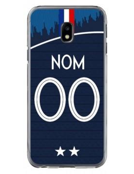 Coque coupe du monde 2018 Samsung Galaxy J3 2017 personnalisable - Domicile