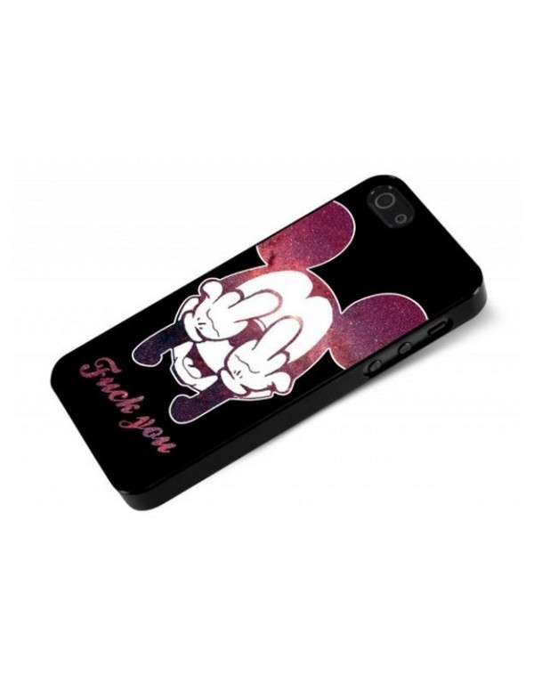 Coque iPhone 5/5S - Fuck you Mickey