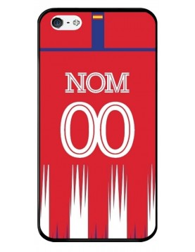 Coque iPhone 4/4S - Football Atletico Madrid Domicile - Personnalisable