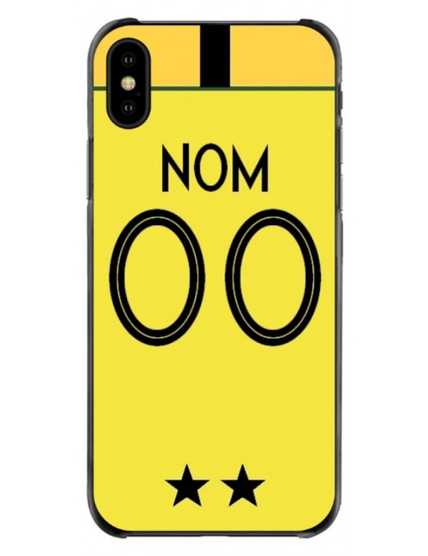 coque iphone xs max personnalisable nom