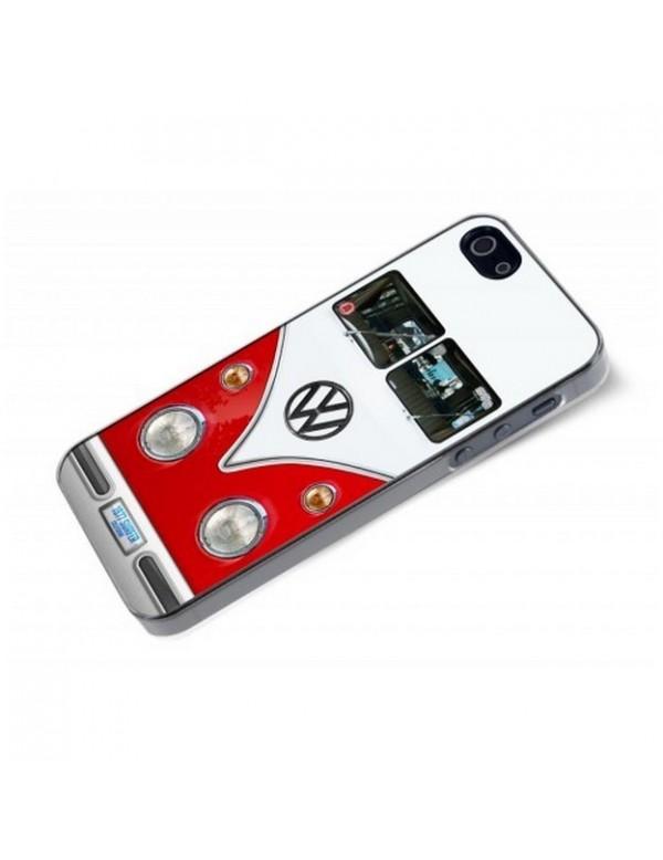 iPhone 5/5S Combi Volkswagen Rouge et Blanc