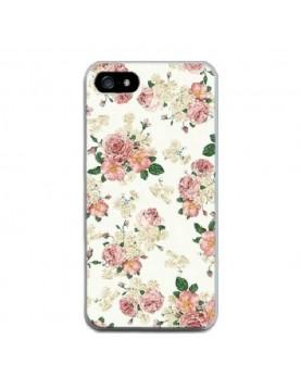Coque-iPhone-5-5s-Fleurs-de-printemps-blanc-rose
