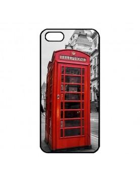 Coque Apple iPhone 5/5S, SE - Londres cabine téléphonique rouge.