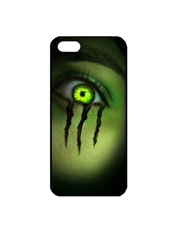 Coque anti-chocs noir pour iPhone 5/5S Oeil Monster