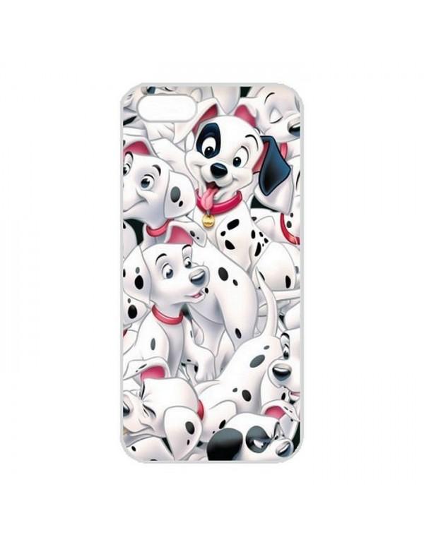 Coque pour Apple iPhone 5/5S, SE -  les 101 dalmatiens