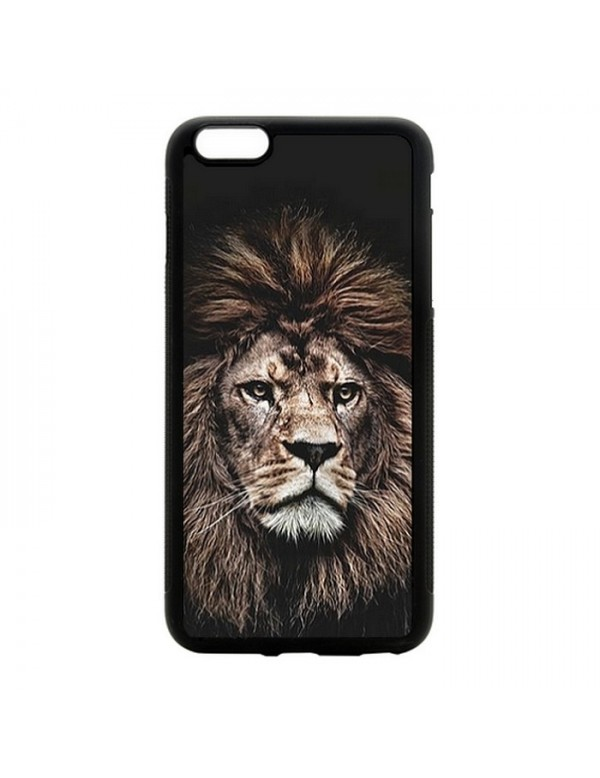 Coque rigide iPhone 5/5S/SE - The king lion