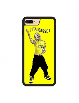 "Coque iPhone 7 Plus/8 Plus - Brice de nice "" J' t'ai cassé!"""