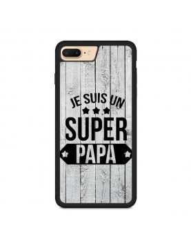 Coque rigide pour iPhone 7 PLUS/8 PLUS - Super papa