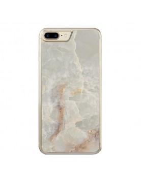 Coque effet Marbre beige pour iPhone 7 Plus/8 Plus
