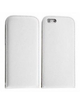 Etui à clapet iPhone 6/6S -  Business Class - Blanc