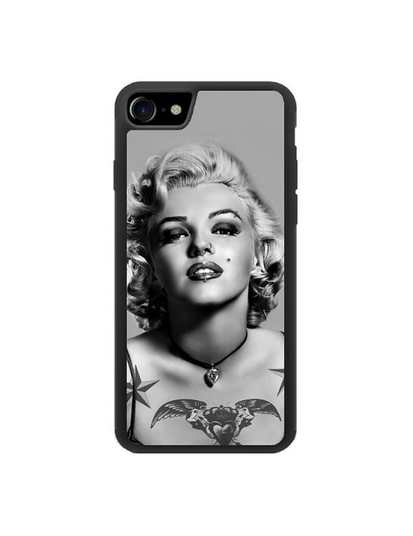 Coque iPhone 7/8 Marilyn Monroe Noir et blanc