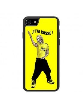 """Coque iPhone 7/8 Brice de Nice """" J' t'ai cassé!"""""""