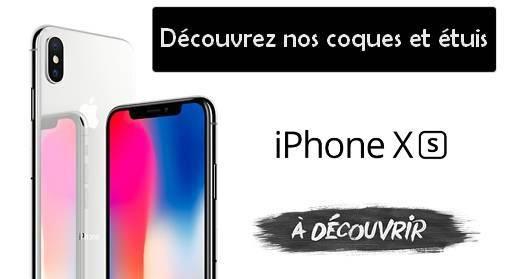 Coques étuis accessoires pour iPhone X et iPhone XS